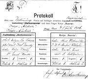 Mensur Lederer 1906