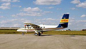 Merpati Nusantara Airlines Flight 9760 - A Merpati Nusantara Airlines DHC-6, similar aircraft to the one involved