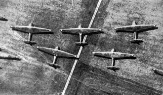 Messerschmitt Me 321 - Messerschmitt Me 321 gliders on airfield 1942