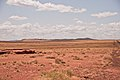 Meteor Crater in Arizona viewed from road.jpg
