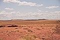 Meteor Crater in Arizona viewed from road.jpg