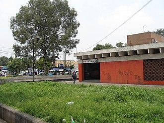 Metro San Joaquín - Image: Metro San Joaquin Entrance
