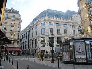 Quatre-Septembre (Paris Métro) - Image: Metro 4 Septembre