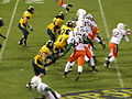 Miami on offense at 2008 Emerald Bowl 27.JPG