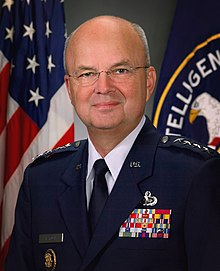 Portrait officiel de Michael Hayden en 2006.