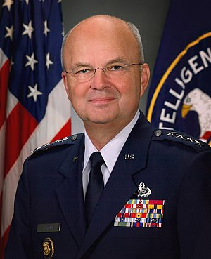 Michael Hayden (general) - Image: Michael Hayden, CIA official portrait