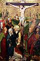 Michael Wolgemut (Schule) Kreuzigung und Beweinung Christi c1490.jpg