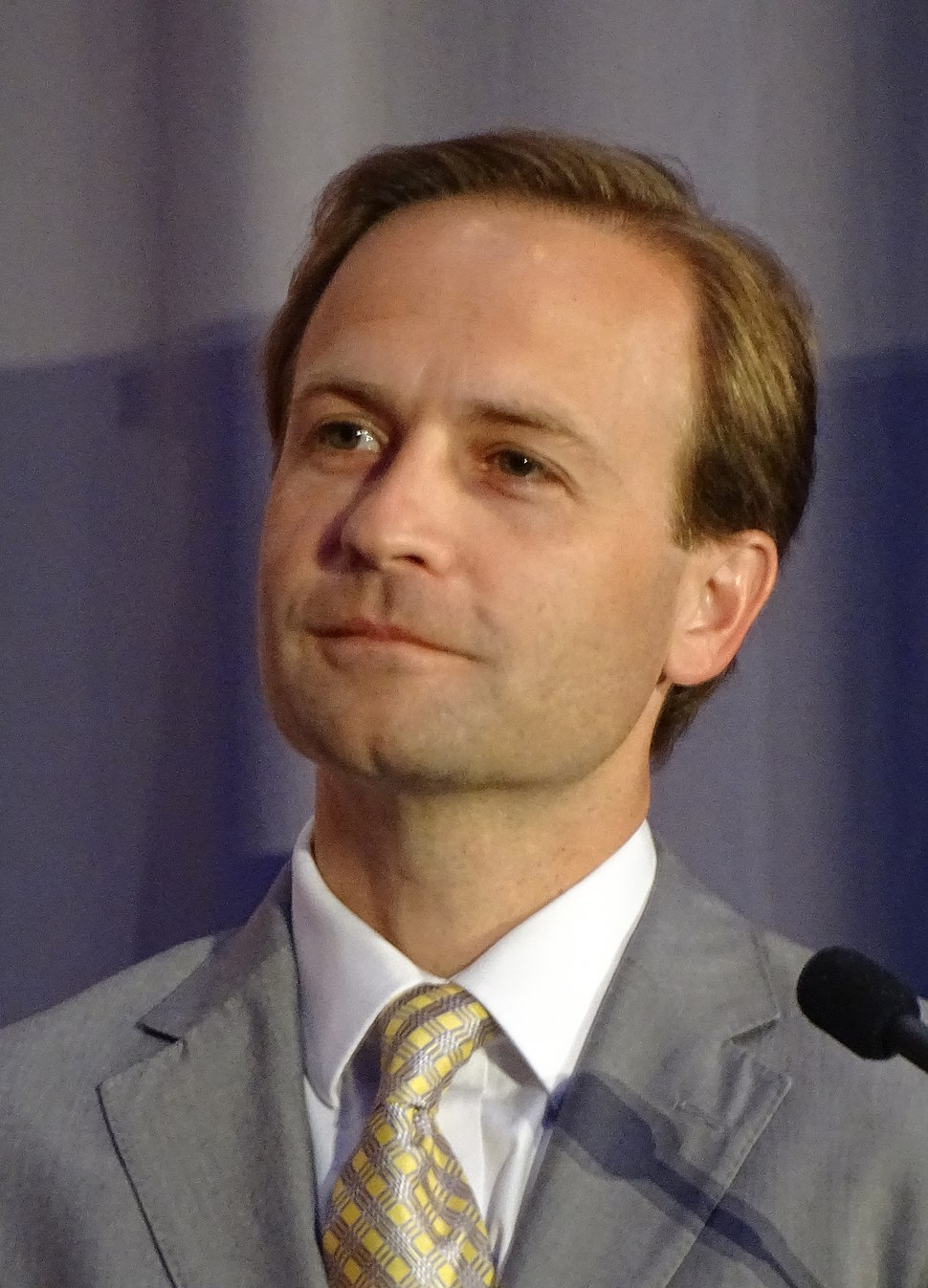Michigan Lt. Governor Brian Calley in Detroit 2016