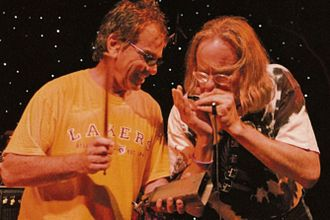 Tony Bove - Mickey Hart of the Grateful Dead and Tony Bove (right), 2006