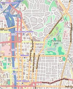 Midtown Atlanta location map.JPG