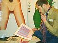 Mike Petrakis at his studio in 2010.jpg