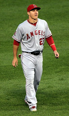 Image illustrative de l'article Mike Trout