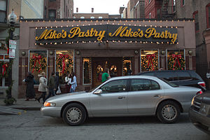 Culture in Boston - Mikes Pastry, Boston, Mass
