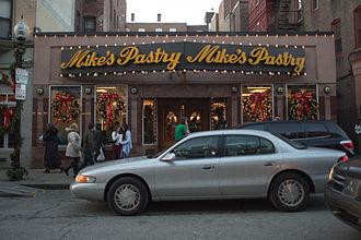 Culture in Boston - Mikes Pastry, Boston, Mass