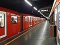 Milano - stazione metropolitana Villa San Giovanni - treno Leonardo.jpg
