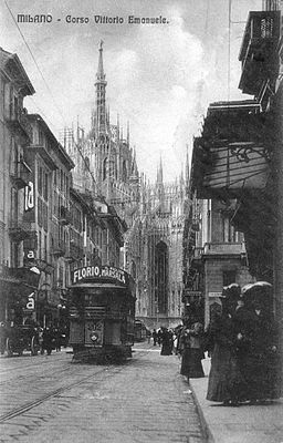 Milano tram marsala florio
