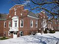 Millbury Public Library in the Snow 02.jpg