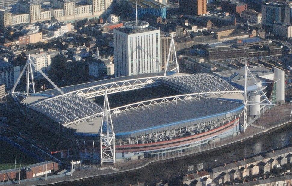 Millennium Stadium (aerial view)