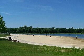 Millennium Park (Grand Rapids) park in West Michigan, USA