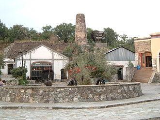 Guanajuato - Rayas mine near the city of Guanajuato
