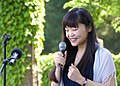 Minako Yoshino at Holocaust Memorial Dedication, Englewood Synagogue in NJ, USA.jpg
