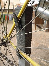 Mini-pied de réparation de vélo