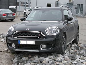Mini Countryman - Image: Mini F60 1