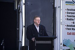 Minister for Infrastructure and Transport, Anthony Albanese speech at the Holbrook bypass open day