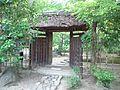 Minomushi-an, Alias Sachû-an - The gate for the garden.jpg