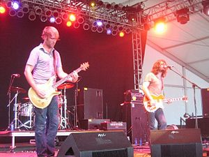 Minus the Bear - Performing at the 2008 Bonnaroo music festival