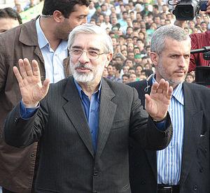میرحسین موسوی ویکی پدیا و نتیجه پایانی دهمین انتخابات