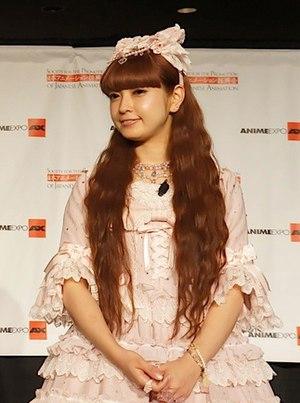 Misako Aoki - Misako at Anime Expo 2012