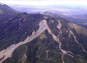 Hurricane Mitch - Casita volcano in western Nicaragua after deadly mudslide