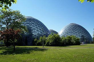 Mitchell Park Horticultural Conservatory - Image: Mitchell Park Horticultural Conservatory