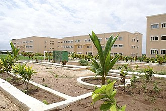 Education in Somalia - Mogadishu University campus.