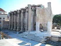 Monastiraki Athens antiquities.jpg