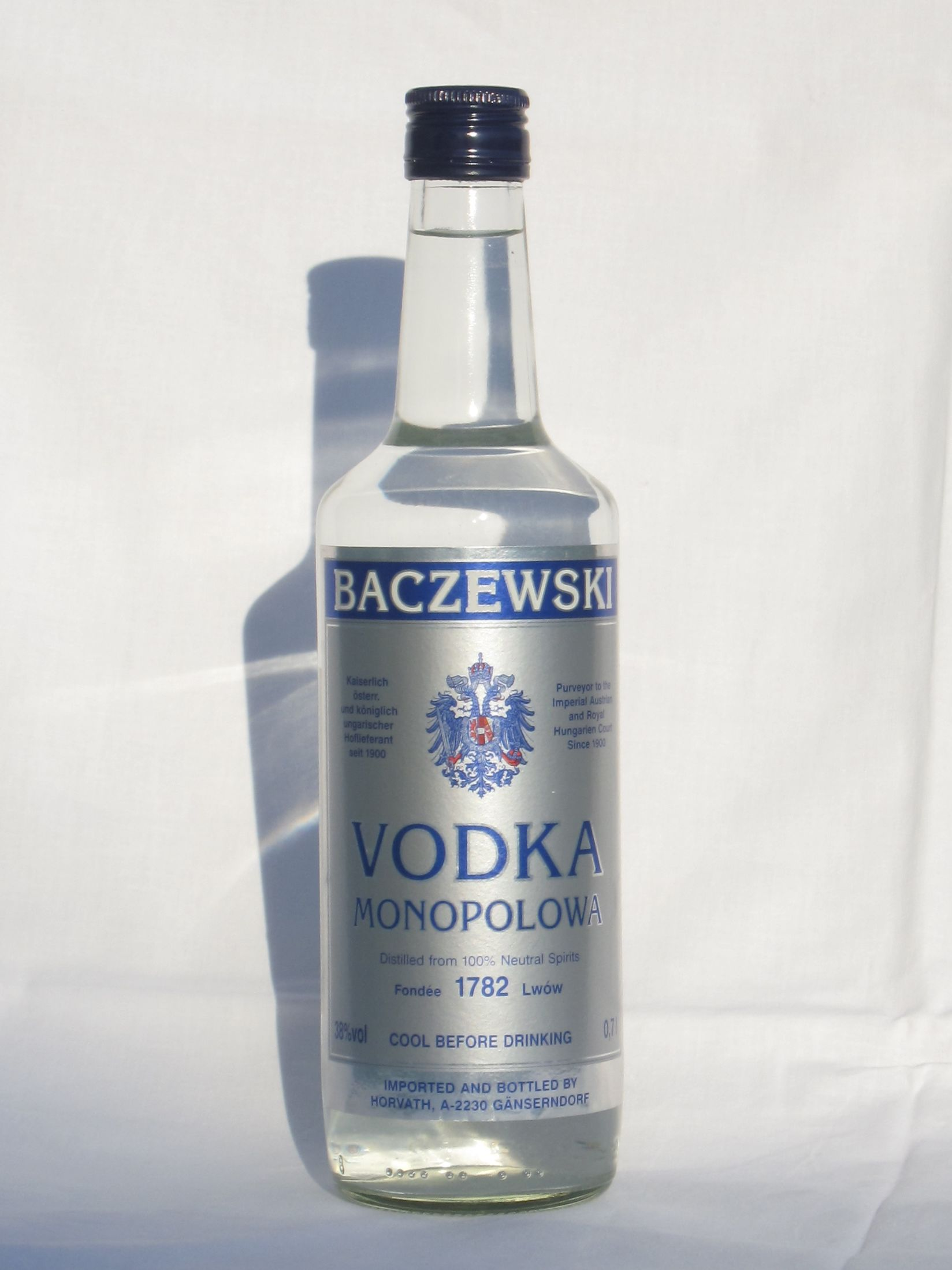 Vodka - The complete information and online sale with free