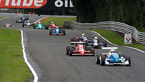 Monoposto Racing Club - A typical Mono2000 grid in Monoposto, 2008