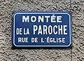Montée de la Paroche (Saint-Maurice-de-Beynost) - 2019 - plaque.jpg