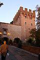 Monte oliveto maggiore, barbacane (1323-1526 restaurato nell'ottocento) 02.JPG