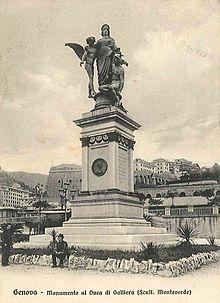 Monumento al Duca di Galliera a Genova