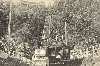 Mount Royal - Mount Royal Funicular Railway, around 1900