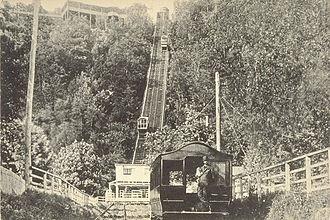 Mount Royal - Mount Royal Funicular Railway, around 1900