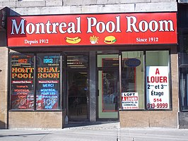 Montreal Pool Room