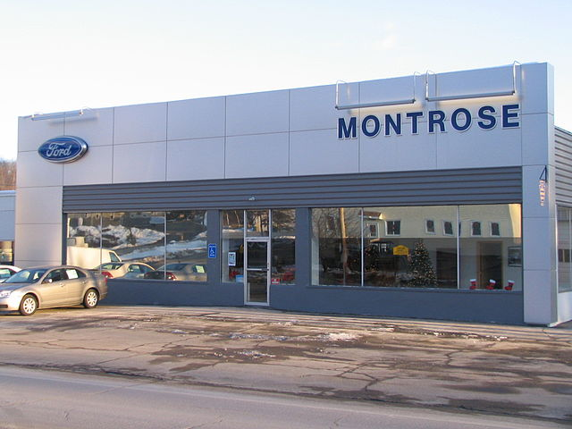 file montrose pa ford auto dealer jpg wikimedia commons
