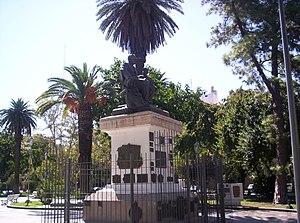 San Juan, Argentina - Monument to President Domingo Sarmiento