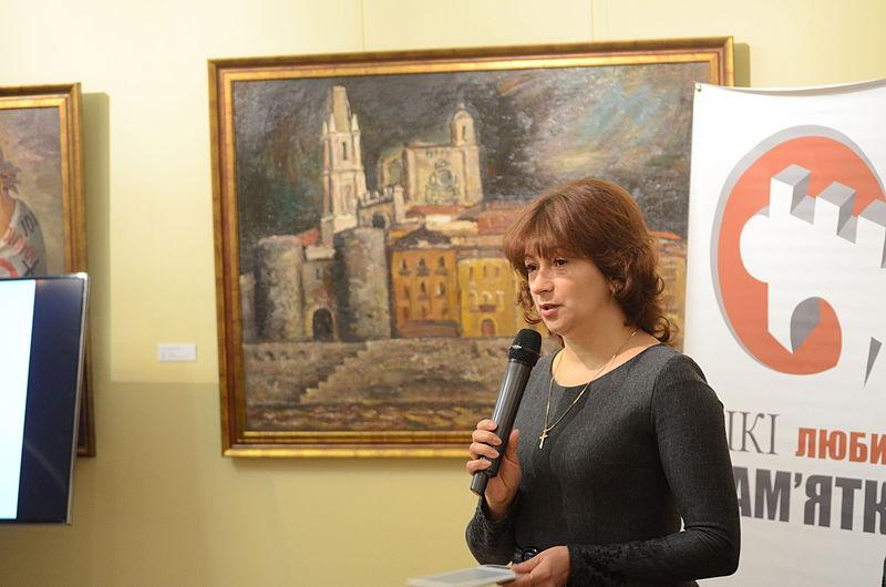 Член журі конкурсу Валентина Кодола. Автор фото — Ilya, ліцензія CC BY-SA.