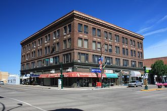 Moose Jaw - Hammond Building (1912)