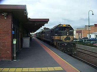 Morwell, Victoria - Morwell Railway Station