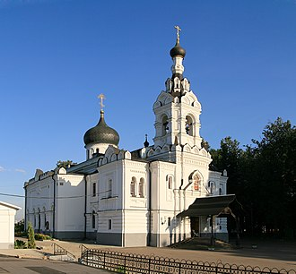 Church of the Assumption of the Blessed Virgin Mary (Trinity-Lykov) - Image: Moscow Troitse Lykovo Dormition Church 1p